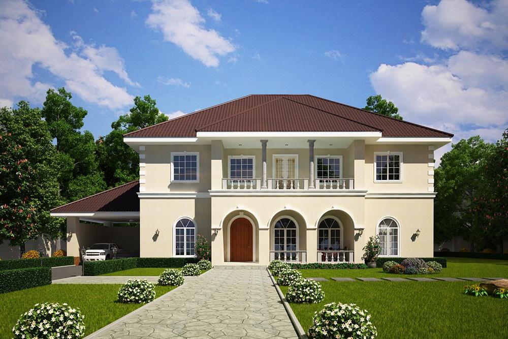 Лендинг строительство частного дома