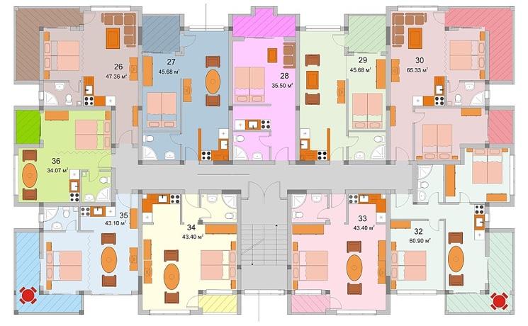 Для оформления доли жилья в собственность может потребоваться план дома.