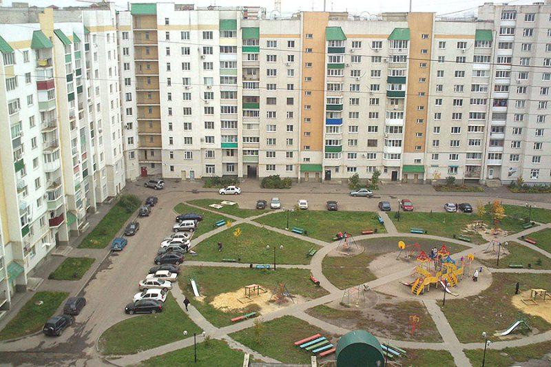 Придомовая территория сколько метров