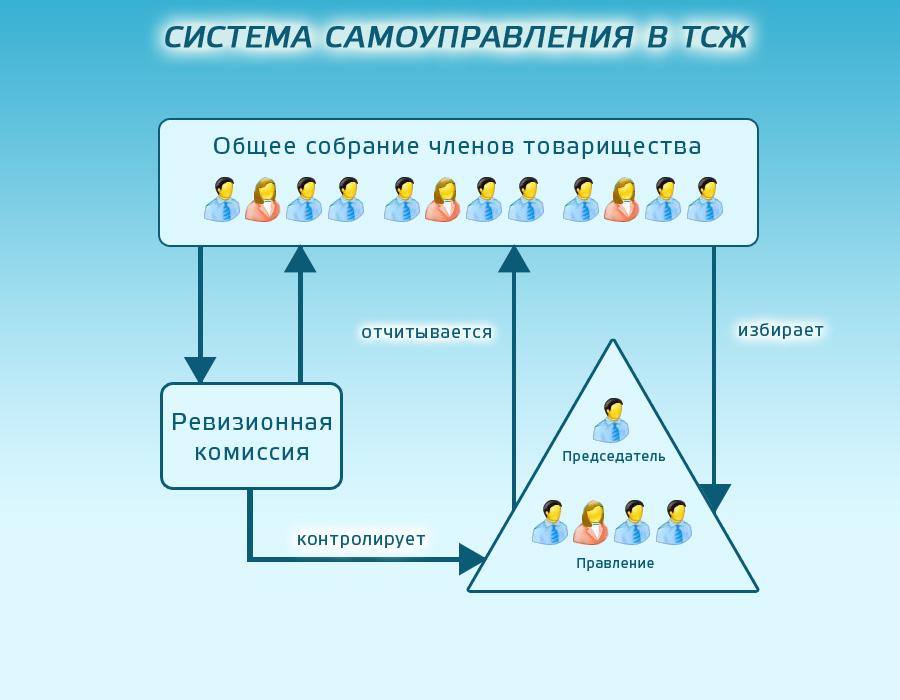 Система самоуправления в ТСЖ.