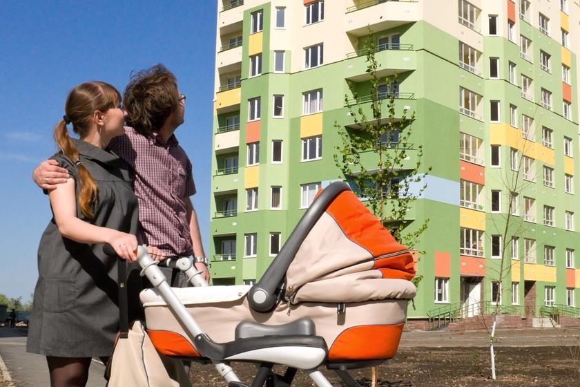 Молодая семья может участвовать в программе на получение жилья.