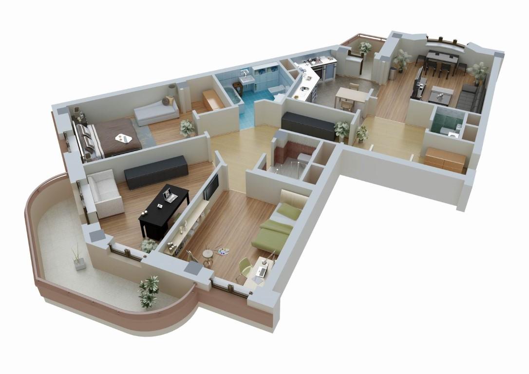 Как выделяется доля в квартире?