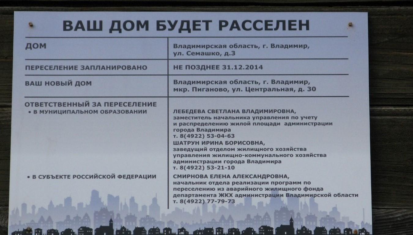 Список областей для переселения по программе Уникумов