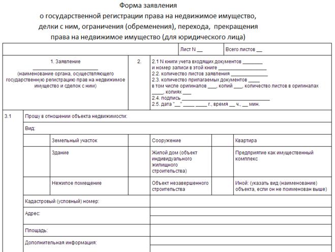 регистрация права собственности на недвижимое имущество юридического лица - фото 6