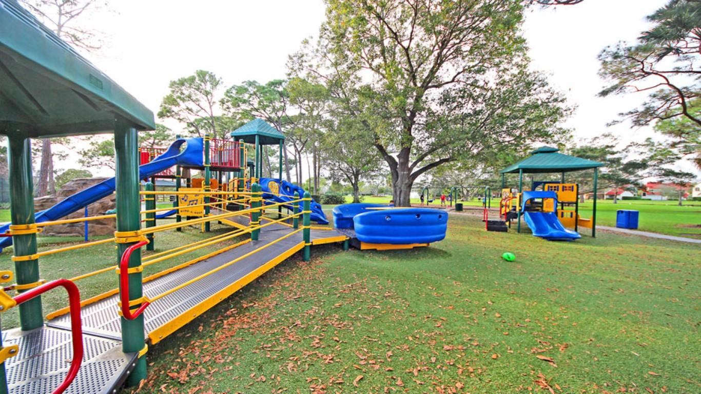 Требования к установке детских игровых площадок